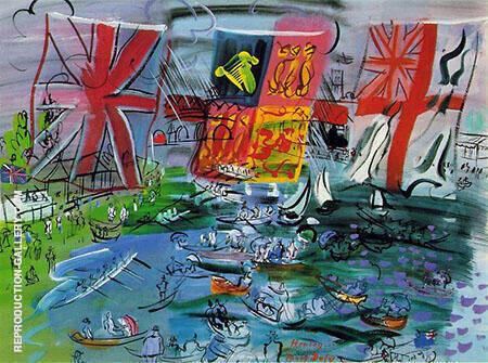 Henley Regatta 1933 By Raoul Dufy