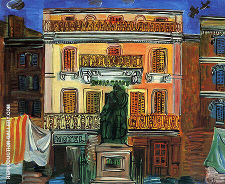 Hotel Sube 1926 By Raoul Dufy