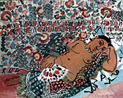 Indian Woman 1928 By Raoul Dufy