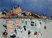 La Playa de Sainte Adresse 1906 By Raoul Dufy
