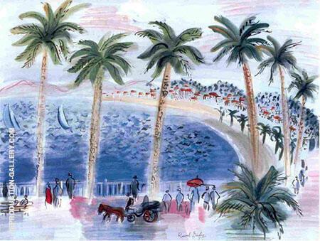 La Promenade Des Anglais A Nice France 1946 By Raoul Dufy