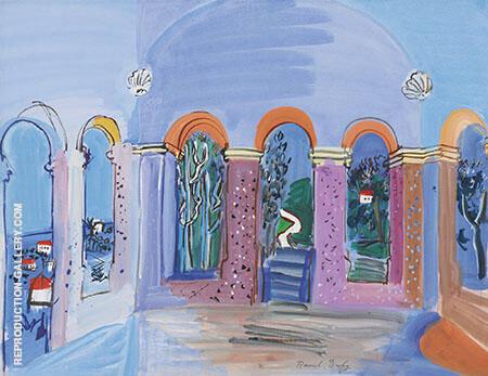 La Terrasse Aux Arc By Raoul Dufy