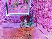 La vie en Rose 1931 By Raoul Dufy