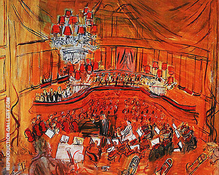 Le Grand Concert 1848 By Raoul Dufy