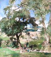 The Oak and the Ash By Edward Arthur Walton
