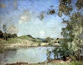 The Mill Pond By Edward Arthur Walton