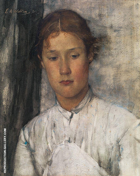 The Game Keeper's Daughter 1886 By Edward Arthur Walton