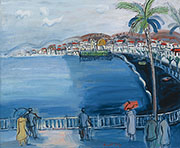 Nice La Baie Des Anges 1928 By Raoul Dufy
