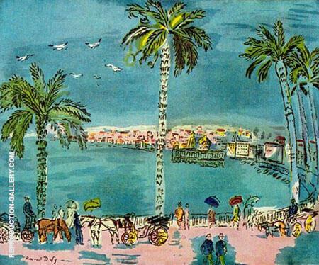 Nice Promenade des Anglais Dufy By Raoul Dufy