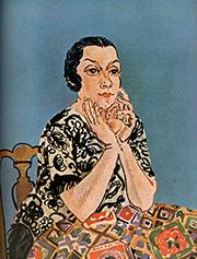 Portrait of Mrs Dufy 1930 By Raoul Dufy
