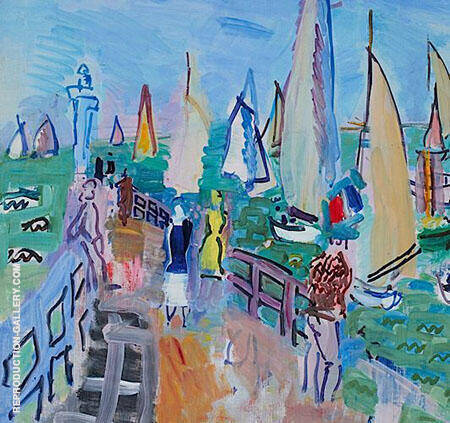 Regatta at Deauville By Raoul Dufy