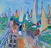 Regatta at Deauville By Raoul Dufy
