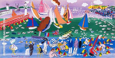 Sainte Adresse By Raoul Dufy