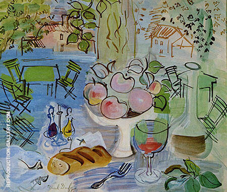 Still Life 1928 By Raoul Dufy