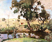 The Amber Pool By Edward Arthur Walton