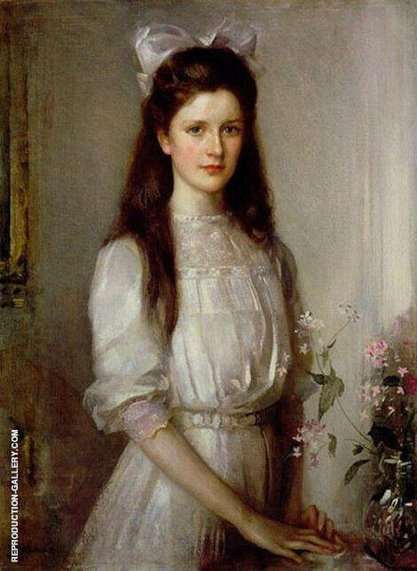 Miss Christian Elspeth Mallock By Edward Arthur Walton