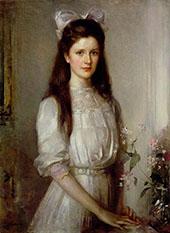 Miss Christian Elspeth Mallock By Edward Arthur Walton