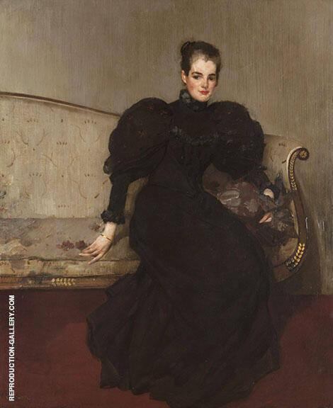 Mrs Helen Walton By Edward Arthur Walton