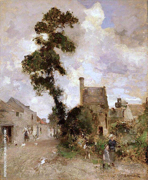 Back Wynd Ceres By Edward Arthur Walton