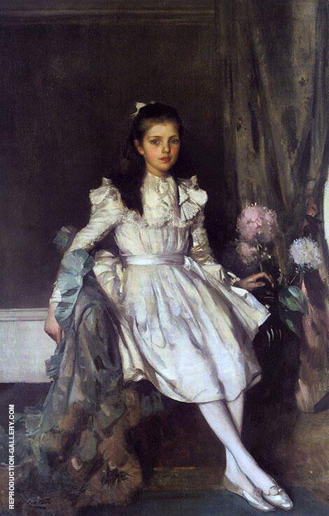 Miss Margaret McFarlane By Edward Arthur Walton