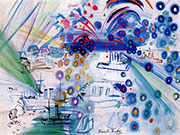 The 14th of July By Raoul Dufy