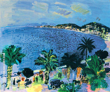 The Bay of Angels Nice 1929 By Raoul Dufy