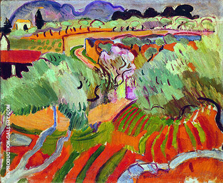 Dufy The Provence Landscape 1905 By Raoul Dufy