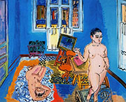 The Two Models 1930 By Raoul Dufy