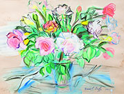 Vase of Roses 1941 By Raoul Dufy