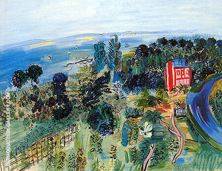 Villerville By Raoul Dufy