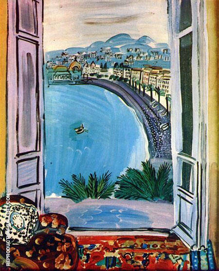 Window at Nice 1953 By Raoul Dufy