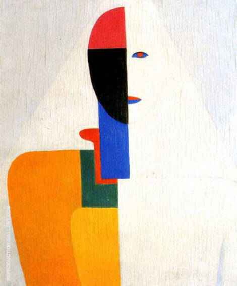 Woman Torso 1932 Painting By Kazimir Malevich - Reproduction Gallery