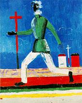 Running Man By Kazimir Malevich