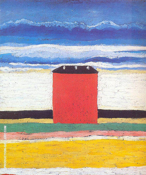 Red House 1932 By Kazimir Malevich