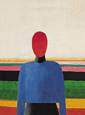 Bust of a Woman By Kazimir Malevich