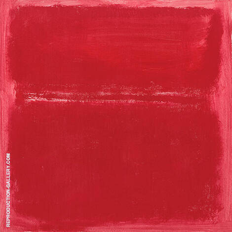 Rose Pink Divided By Mark Rothko (Inspired By) Replica Paintings on Canvas - Reproduction Gallery