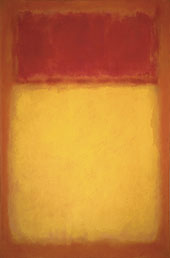 Yellow, Orange and Red By Mark Rothko (Inspired By)