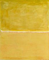 Yellow and Lemon with White Band By Mark Rothko (Inspired By)