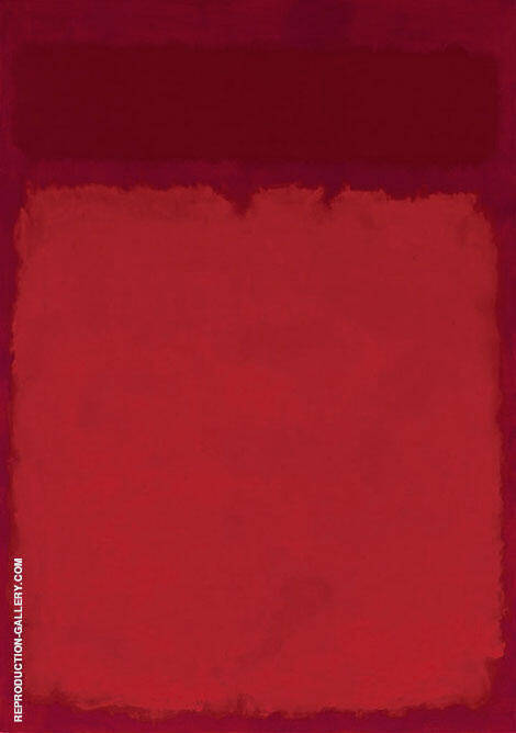 Two Reds over Magenta By Mark Rothko (Inspired By)