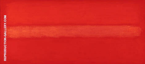 Crimson Line By Mark Rothko (Inspired By)