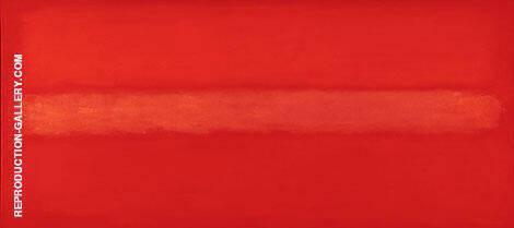 Crimson Line By Mark Rothko (Inspired By)