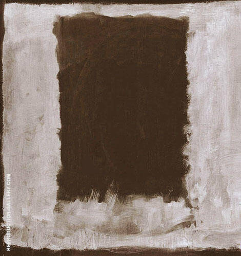 Black on White By Mark Rothko (Inspired By)