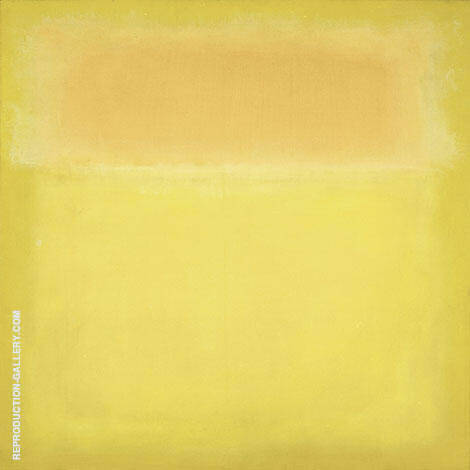 Yellow on Yellow By Mark Rothko (Inspired By)