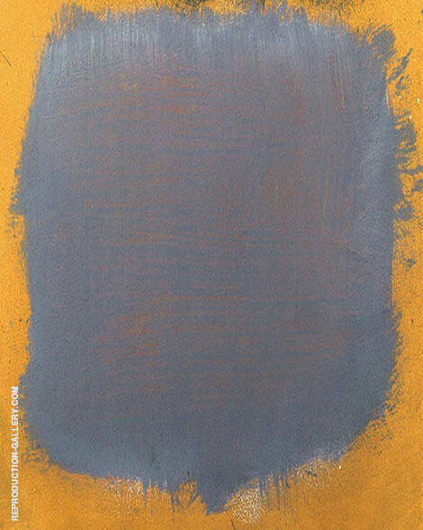 Grey over Ochre By Mark Rothko (Inspired By)
