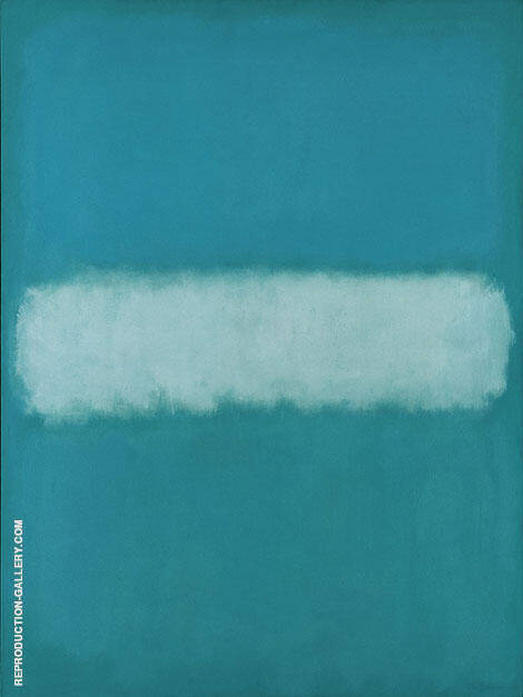 Sky Divided by Cloud By Mark Rothko (Inspired By)