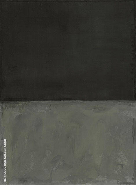 Grey and Black By Mark Rothko (Inspired By)