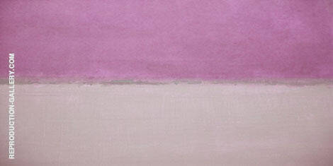 Light Purple and Blush By Mark Rothko (Inspired By)
