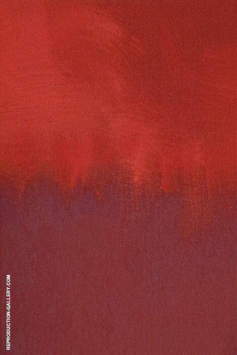 Red Over By Mark Rothko (Inspired By)