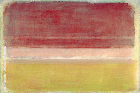 Three Bands By Mark Rothko (Inspired By)