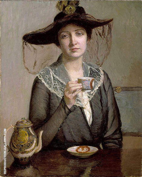 A Cup of Tea 1900 By Lilla Cabot Perry